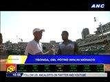 Tsonga, del Potro win in Monaco