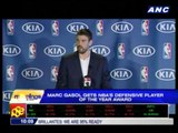 Marc Gasol named Defensive Player of the Year