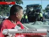 7 hurt in SLEX truck-bus collision