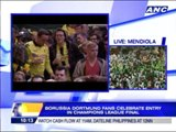 Dortmund fans celebrate entry in Champions League final
