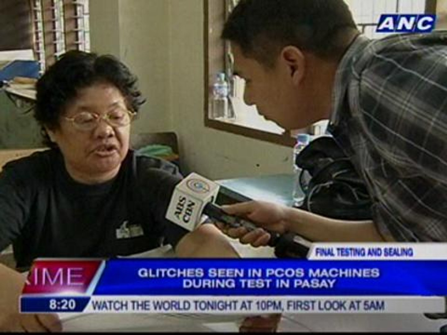 Glitches seen in PCOS machines during test in Pasay
