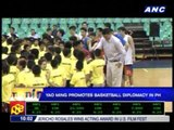 Yao Ming promotes basketball diplomacy in PH
