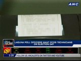 Laguna poll officers want PCOS technicians on Election Day