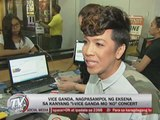 Vice Ganda gives concert tickets to fans