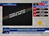 Google Chrome experiment lets devices race across multiple screens