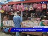School supplies vendors expect more buyers this weekend