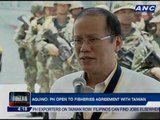 Aquino: PH open to fisheries agreement with Taiwan