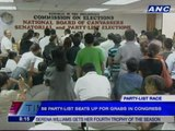 Some partylist groups hold protest in Comelec over delayed canvassing