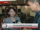 NBI team arrives in Taiwan for probe