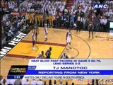 TJ Manotoc breaks down Miami's game 5 victory