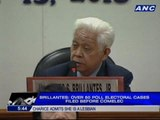Brillantes: Over 50 poll electoral cases filed before COMELEC