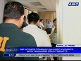 NBI agents discuss voyage data records with Taiwanese experts