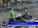 MMDA begins 3 week cleanup drive for waterways