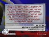 Bayan Patroller reports 'no pay-no report card' policy