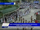 Many transferees to Parañaque Nat'l High School come from private schools