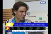 Nadal wins 8th French Open