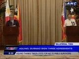 Aquino thanks Timor-Leste for $750,000 aid to typhoon pablo survivors