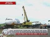 CAAP insists pilot error in CebuPac mishap