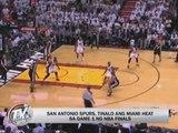 Spurs beat Heat in NBA Finals Game 1