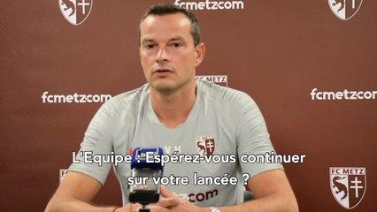 Metz - Monaco, la conférence d'avant-match