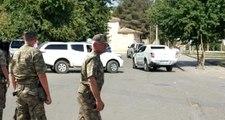 Güvenli Bölge kapsamında Türkiye'de bulunan ABD'li Korgeneral Twitty, Suriye sınırında incelemede bulundu