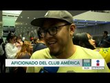 Así recibieron a Memo Ochoa en el aeropuerto   Noticias con Francisco Zea
