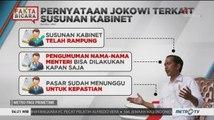 Kabinet Kerja Jokowi-Ma'ruf Telah Disusun (1)