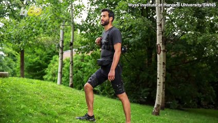 Harvard Engineers Develop Exosuit That Enhances Walking and Running Ability