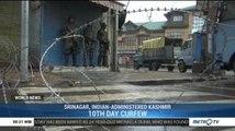Indian-controlled Kashmir Under Strict Lockdown