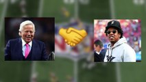 Robert Kraft played key role in NFL and Jay-Z deal