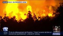 Languedoc: comment les pompiers ont cherché à combattre les flammes