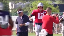 Tom Brady talks training camp, shoots down a future in coaching