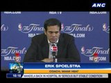 Spoelstra: Defense will be key for Game 2