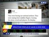 Azkals fans complain of abuse in Hong Kong