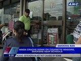 MMDA cracks down on cigarette vendors, smokers near schools