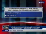 DOTC receives proposals for P3.8B MRT 3 capacity expansion project