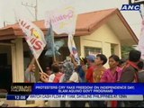 Protesters cry 'fake freedom' on Independence Day, slam Aquino gov't programs