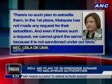 DOJ: No plan to surrender Kirams to Malaysian authorities