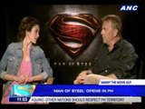 Manny the Movie Guy interviews cast of 'Man of Steel'