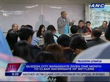 QC barangays given one month to clear waterways of settlers