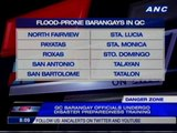 20 Barangays in Quezon City identified as flood-prone areas