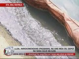 Oil spill reaching Laguna de Bay feared