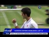 Djokovic enters Wimbledon last 16