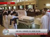 Kim Chiu's mother laid to rest