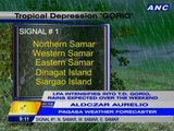 LPA intensified into T.D. Gorio; rains expected over the weekend