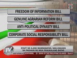 Lawmakers race to file first bills of 16th Congress