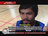 EXCL: Pacquiao gets over loss to Marquez, prepares for Rios