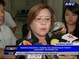 De Lima: Gov't will pursue case even if some victims reach 'deal' with Ampatuans