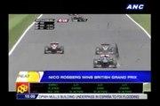 Nico Rosberg wins British Grand Prix