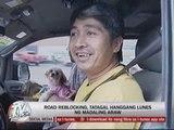 Road reblocking stalls EDSA traffic